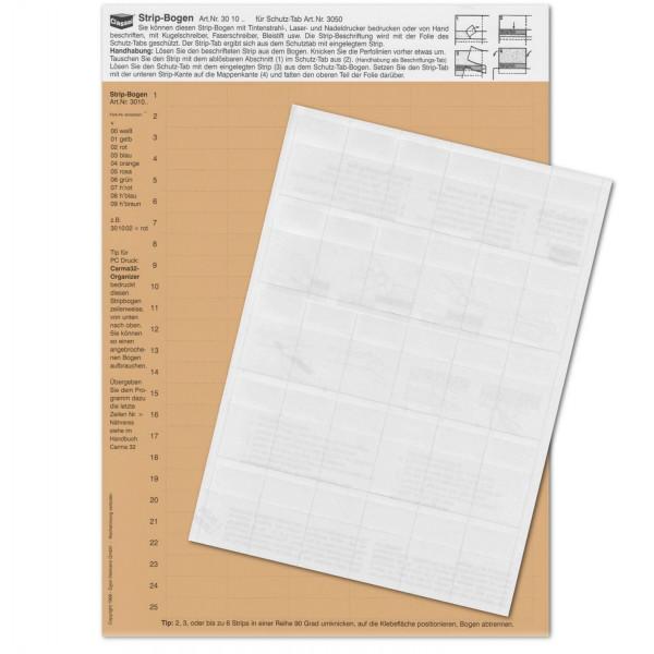 301009P StripTabs-Pck. hellbraun 10x28,75mm