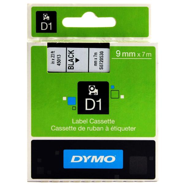 DLMT9 Beschriftungsband transparent, 9 mm