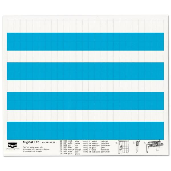 091303 Signal-Tabs blau
