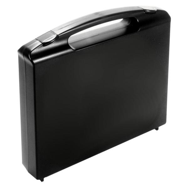 594101 GO-Koffer für 1 Sammler, PP, schwarz
