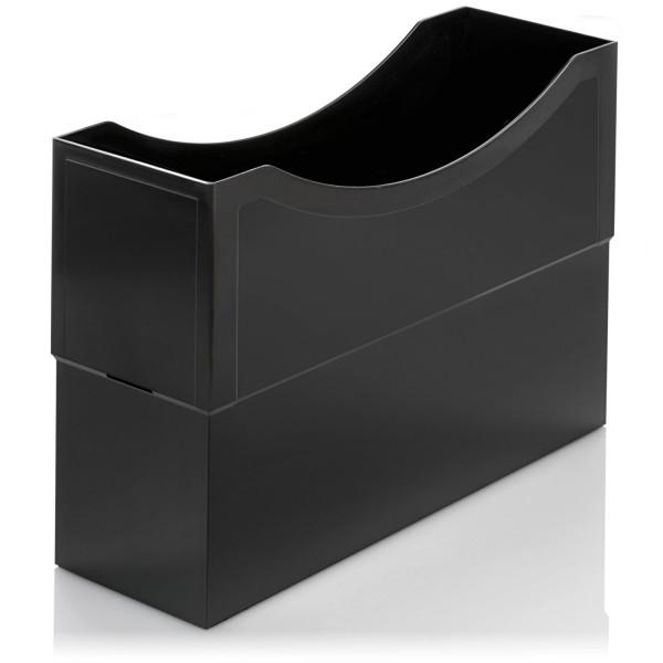 104011 Kunststoffboxen schwarz