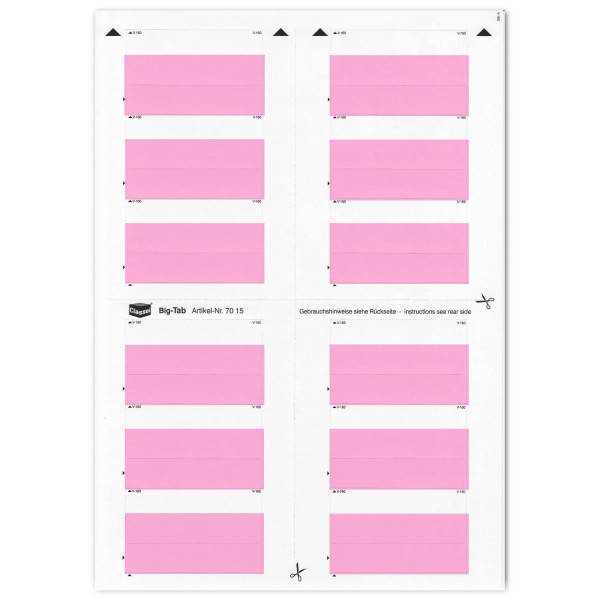 701505 Big-Tabs rosa