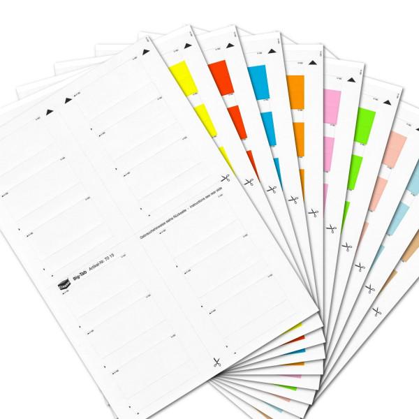700009S Big-Tabs Sortiment(Farben 00-09)