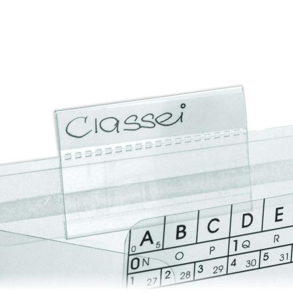 410357 Schiebereiter, glasklar, 10 x 57 mm