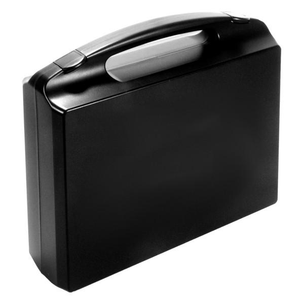 594102 GO-Koffer für 1 Orga-Box, PP, schwarz