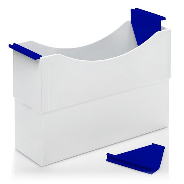 180003 Hängeleisten blau für Kunststoff-Box