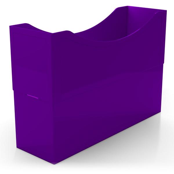 104030 Kunststoffboxen purple violett