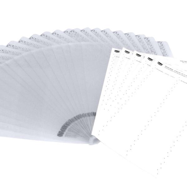 224453P, Blättersicht-Mappen-Set, transparent