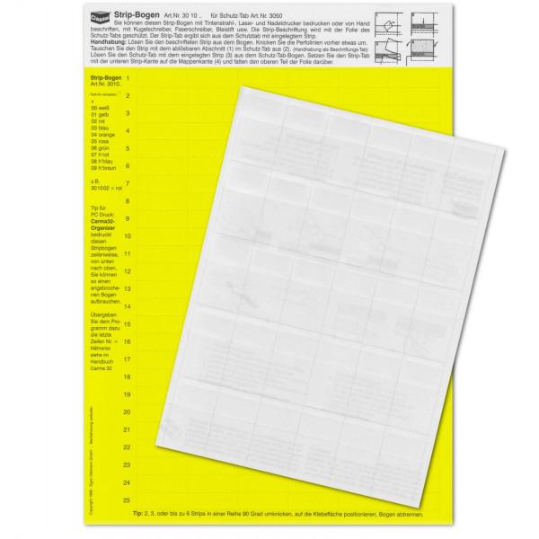 301001P StripTabs-Pck. gelb 10x28,75mm