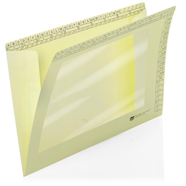 224816 Orgamappen mit Sichtfenster