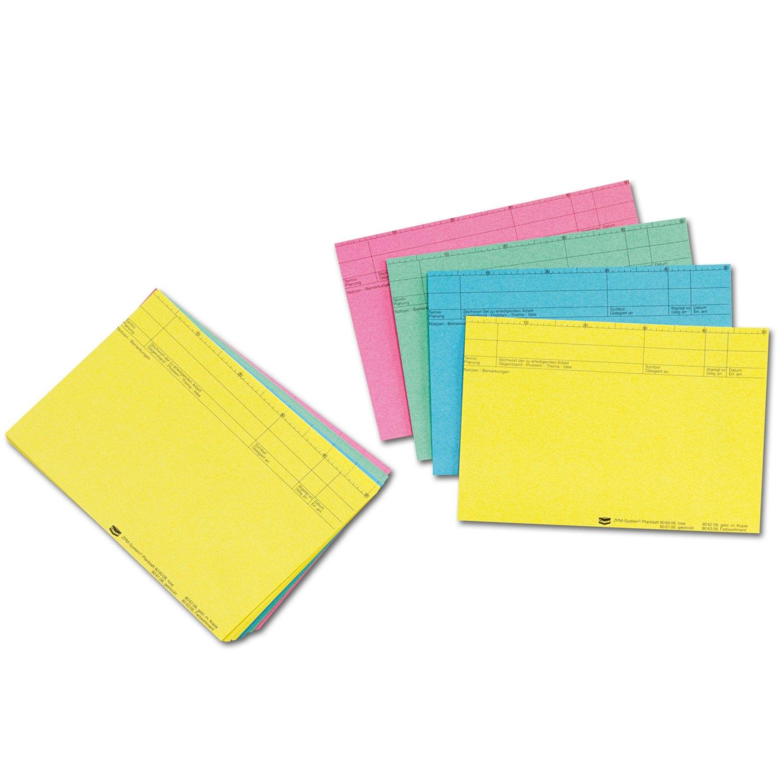 Sie sind mit einem Organisationsdruck versehen und dienen zur Fixierung Ihrer Aufgaben, die sich in ihrer Priorität unterscheiden <br><br> <strong>Ausführung: </strong> 100 Blatt lose<br> <strong>Material:</strong> Papier 90 g/m²<br> <strong>Brei ...
