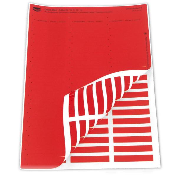 591002 Quick-Strip, rot, ablösbar