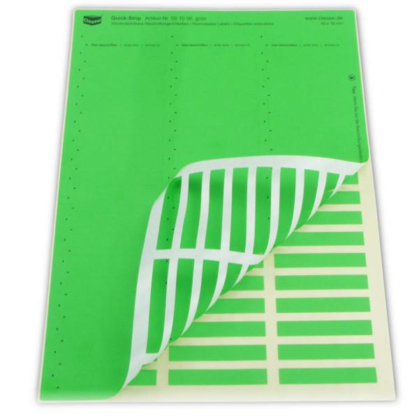 591006 Quick-Strip, grün, ablösbar