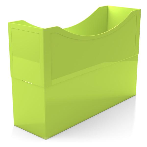 104031 Kunststoffboxen lime green