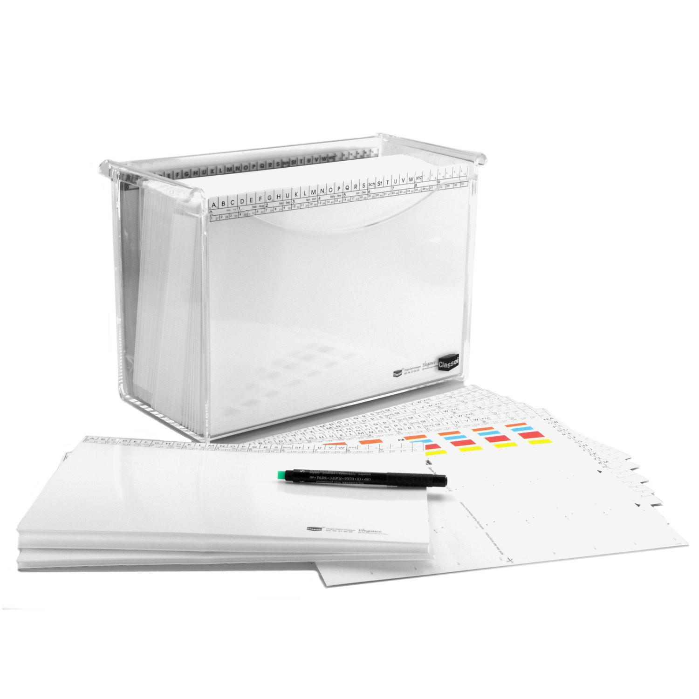 <p>Die Mappenserie <strong>White-Edition</strong> kombiniert mit einer attraktiven Acrylglas-Box als fertiges Set - sofort startklar - so macht das Arbeiten mit dem Classei-System rund um den Schreibtisch noch mehr Spaß.</p><p>Das White Editio ...