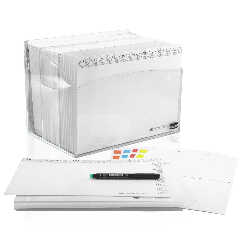 <p>Die Mappenserie <strong>White-Edition</strong> kombiniert mit einer attraktiven Projekt-Box als fertiges Set - sofort startklar - so macht das Arbeiten mit dem Classei-System rund um den Schreibtisch noch mehr Spaß.</p><p>Das White-Edition S ...