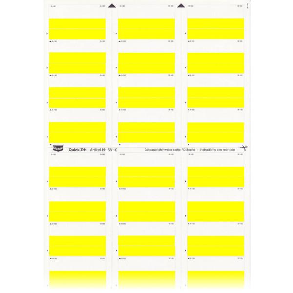 581001 Quick-Tabs gelb