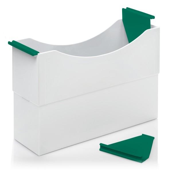 180006 Hängeleisten grün für Kunststoff-Box