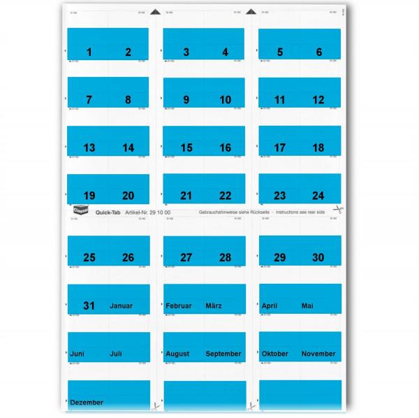 291003T Daten-Tabs blau 1-31/Jan.-Dez.