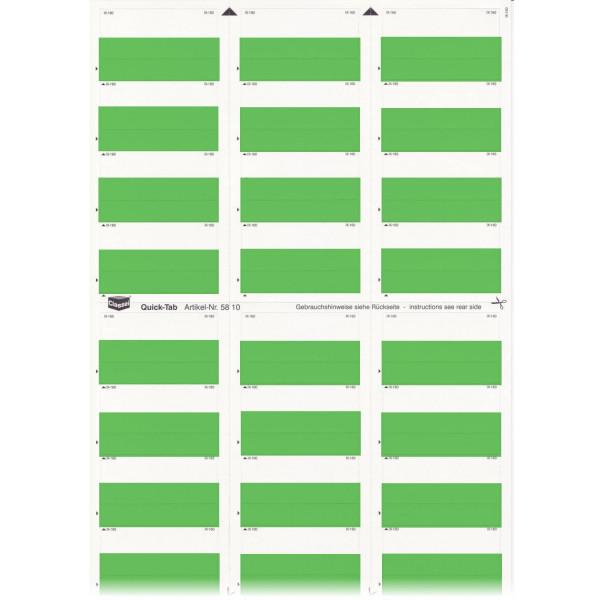 581016 Quick-Tabs dunkelgrün