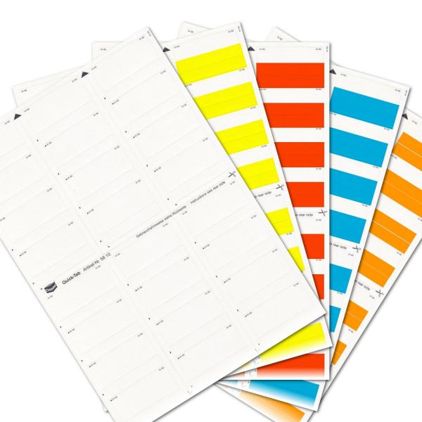 580004S Quick-Tabs Sortiment(Farben 00-04)