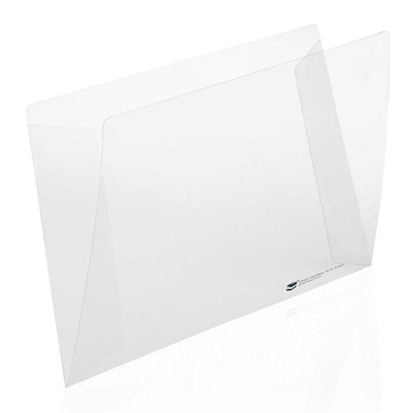 204550 Klarsichtmappen Hart PVC, ohne Orgadruck