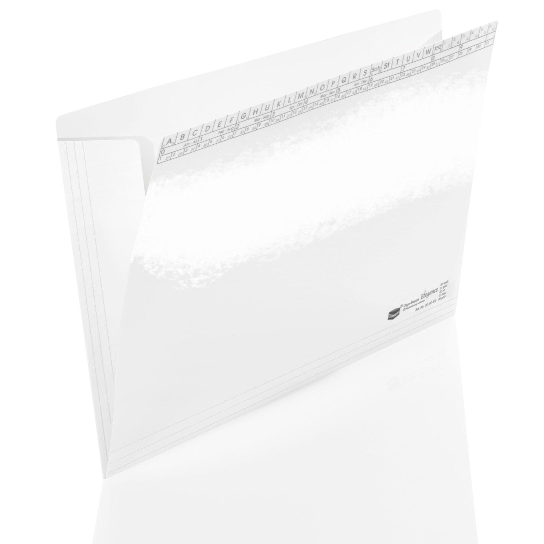 <p> nehmen Ihre Dokumente sicher auf und bringen Farbe ins Büro<br><br>Sie besteht aus stabilem 250 g/m² Karton, cellophaniert (foliert) und in fünf Farben erhältlich. Das macht die Mappe nicht nur sehr attraktiv, sondern auch reißfester und abwi ...