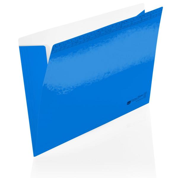 204045/03 Orgamappen Elegance blau 250g