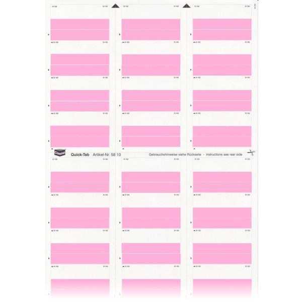 581005 Quick-Tabs rosa