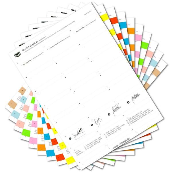 570009S Folien-Tabs Sortiment(Farben 00-09)