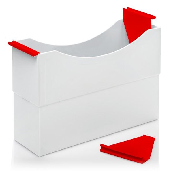 180002 Hängeleisten rot für Kunststoff-Box