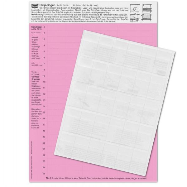 301005P StripTabs-Pck. rosa 10x28,75mm