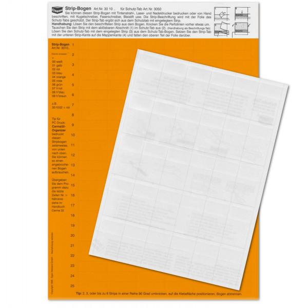 301004P StripTabs-Pck. orange 10x28,75mm