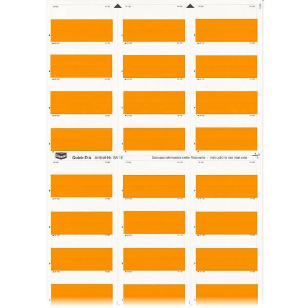 581004 Quick-Tabs orange